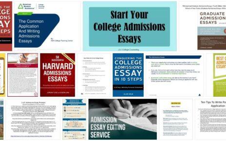 Admissions Essays