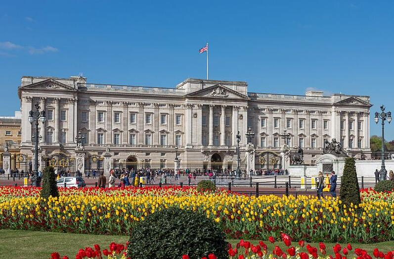 Buckingham Palace is the official residence of the British royal family