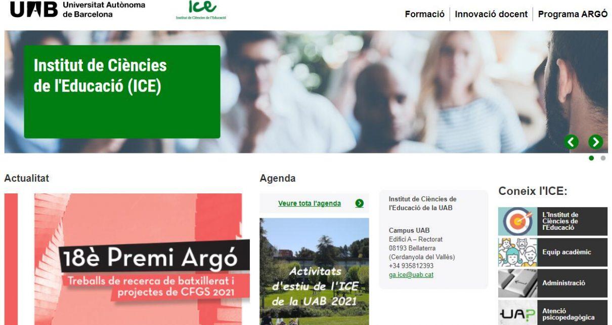 Institut de Ciències de l'Educació de la UAB - UAB Barcelona