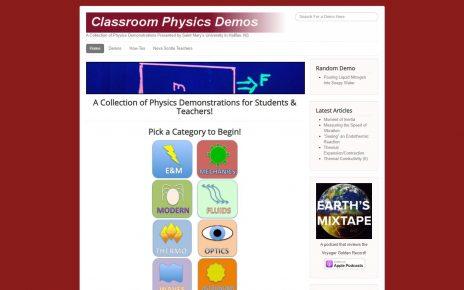 Saint Mary's Physics Demos