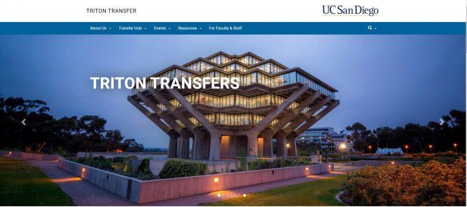 UCSD Triton Transfers