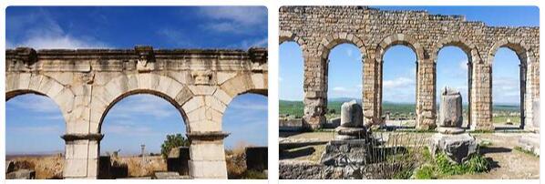 Volubilis Archaeological Site (World Heritage)