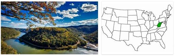 West Virginia Geography